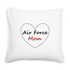 Air Force Mom Square Canvas Pillow