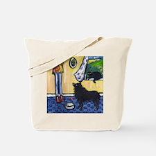 Hungry Schipperke! Tote Bag
