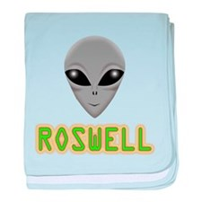 ROSWELL baby blanket