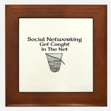 Social Networking Get Caught In The Net Framed Til