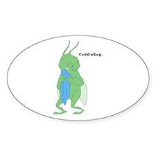 Cuddlebug-boy Oval Decal