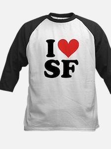 I Heart Personalized Baseball Jersey