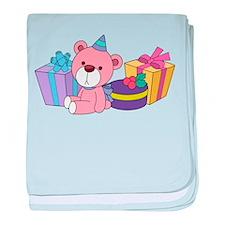 Birthday Party baby blanket