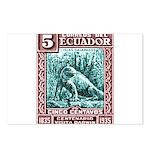 1936 Ecuador Galapagos Land Iguana Postage Stamp P