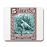 1936 Ecuador Galapagos Land Iguana Postage Stamp M