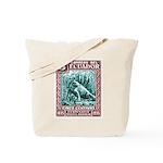 1936 Ecuador Galapagos Land Iguana Postage Stamp T
