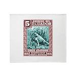 1936 Ecuador Galapagos Land Iguana Postage Stamp