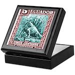 1936 Ecuador Galapagos Land Iguana Postage Stamp K