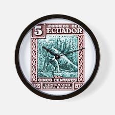 1936 Ecuador Galapagos Land Iguana Postage Stamp W