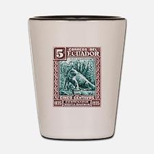 1936 Ecuador Galapagos Land Iguana Postage Stamp S