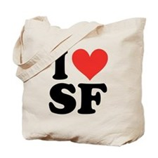 I Heart Personalized Tote Bag