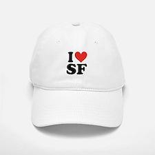 I Heart Personalized Baseball Baseball Baseball Cap