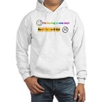 I'm Having a Nice Day! Hooded Sweatshirt