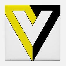 Voluntaryism Tile Coaster