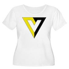 Voluntaryism Plus Size T-Shirt
