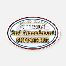 Citizen Supporter Oval Car Magnet