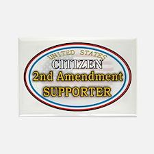 Citizen Supporter Rectangle Magnet