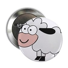 "Sheep 2.25"" Button"