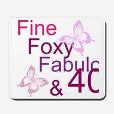 Fine 40 (9) Mousepad