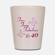 Fine 40 (9) Shot Glass