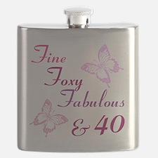 Fine 40 (9) Flask