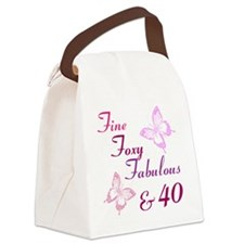 Fine 40 (9) Canvas Lunch Bag