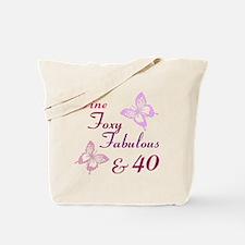 Fine 40 (9) Tote Bag