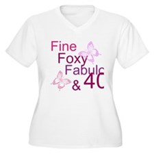 Fine 40 (9) Plus Size T-Shirt