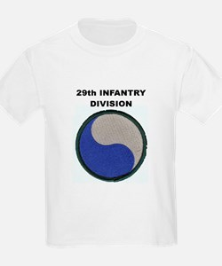 29TH INFANTRY DIVISION Kids T-Shirt