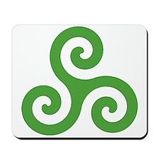 Triskele-Symbol1 Mousepad