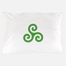 Triskele-Symbol1 Pillow Case