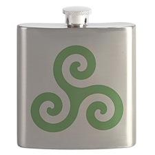 Triskele-Symbol1 Flask