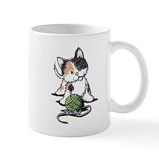 Playful Calico Kitten Mug
