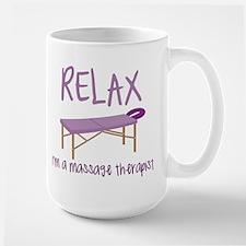 Relax Message Table Mug