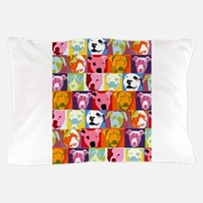 Cool Pit bull rescue Pillow Case