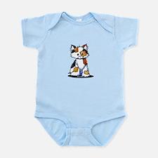 Calico Patches Infant Bodysuit