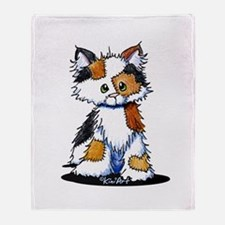 Calico Patches Throw Blanket