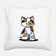 Calico Patches Square Canvas Pillow