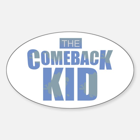 The Comeback Kid - Blues Decal