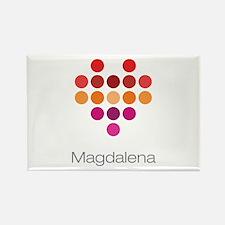 I Heart Magdalena Rectangle Magnet