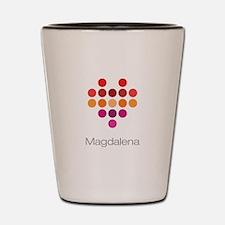 I Heart Magdalena Shot Glass