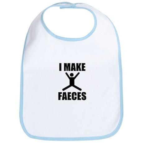 I Make Faeces Bib