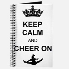 Keep Calm and Cheer on Journal