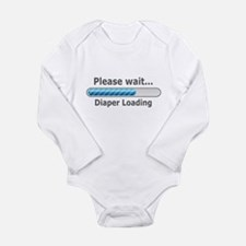 Funny! Diaper Loading Body Suit