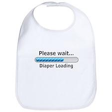 Funny! Diaper Loading Bib