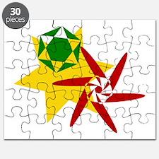 Rastafarian Colors Puzzle