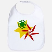 Rastafarian Color Bib