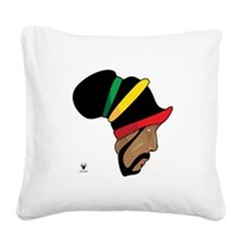 Rastafarian Square Canvas Pillow