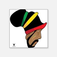 Rastafarian Sticker
