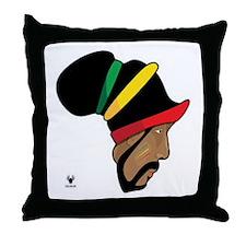 Rastafarian Throw Pillow